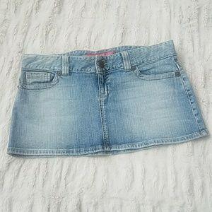 Guess mini denim skirt